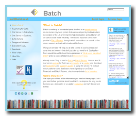 Screen shot of www.batch.co.uk
