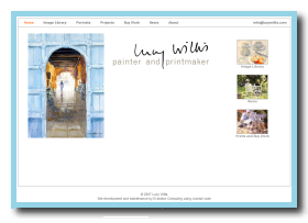 About page of www.lucywillis.com